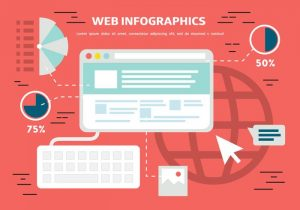 vector free flat web infographics background 300x210 - vector-free-flat-web-infographics-background