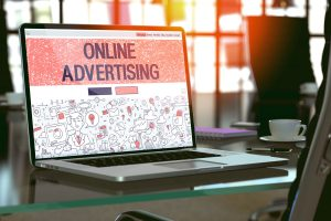 online advertising 102906979 300x200 - Online Advertising Concept on Laptop Screen.